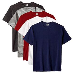 [Prime] Kit 05 Camisetas Lisas 100% Algodão Premium | R$120