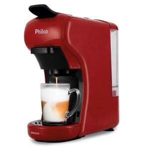 Cafeteira Elétrica Philco Multicapsula PCF19VP Vermelha 220V | R$ 430