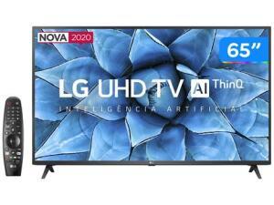 "[Magalupay R$3349] Smart TV UHD 4K LED IPS 65"" LG Wi-Fi | R$ 3499"