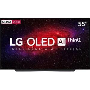 Smart TV LG OLED 55'' Ultra HD 4K WiFi Bluetooth HDR - R$4950