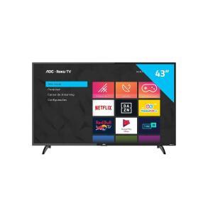 "Smart TV LED 43"" AOC 43S5195/78G 3 HDMI, 1 USB, Wi-Fi Preta"