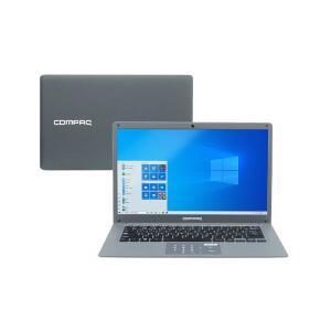 "Notebook Compaq CQ27 I3-5005U 4GB 120GB SSD Tela 14"" W10 | R$2.399"