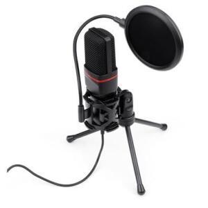 Microfone Streamer Gamer Redragon GM100, P2 - GM100 | R$ 200