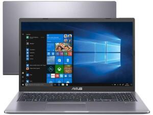 "[APP+Cliente Ouro] Notebook Asus M515DA-EJ502T AMD Ryzen 5 8GB RAM 256GB SSD 15,6"" Full HD Windows 10 R$ 3143,60"
