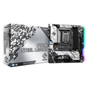 Placa-Mãe ASRock B460M Steel Legend, Intel LGA1200, Micro ATX, DDR4 R$820