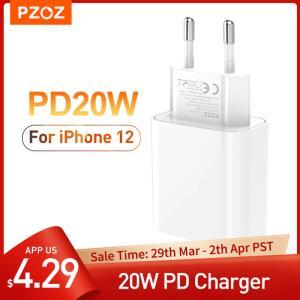 Carregador QC 20W Tipo C - Compativel com iPhone 12 | R$15