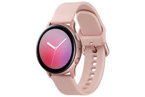 Samsung Galaxy Watch Active2 (40mm, LTE, Rosê) + Bateria Externa carga rápida 10.000mAh USB Tipo C (Prata ou Rosê) | R$989