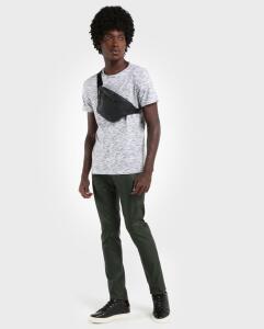 Calça Jeans Color Resinada Skinny -Verde Militar | R$24