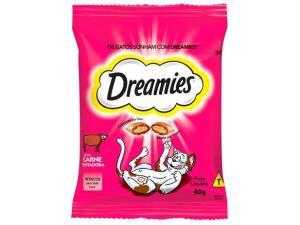 Petisco para gatos Dreamies sabor Carne R$3,59