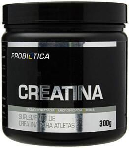 Creatina Monohidratada Pura - 300g - Probiótica - R$32