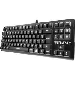 APP [AME - R$179]Teclado mecânico Gamdias Hermes E2 ABNT2 Switch Huano BLUE - R$191
