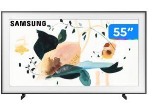 "Smart TV QLED 55"" UHD 4K Samsung The Frame QN55LS03T | R$4182"