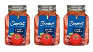 [APP] Kit Passata de tomates rústica - Sacciali encorpado- 3 unidades, 300g R$ 7