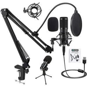 Kit Microfone Estúdio Condensador Profissional USB BM800 VEDO R$181