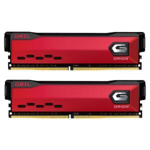 Memória DDR4 Geil Orion, 16GB (2x8GB) 3000MHz, Vermelho - R$549
