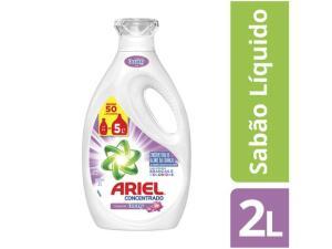 Sabão ariel líquido com toque de downy 2L - R$20