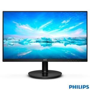 "Monitor 21,5"" Philips Full HD com 4.000:1 de Constraste - 221V8 - R$482"