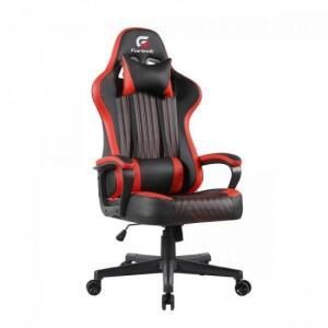 Cadeira Gamer Vickers Preta/Vermelha FORTREK - R$817