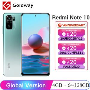Smartphone Redmi Note 10 4GB 64GB | R$899