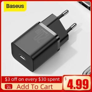 Carregador Rápido 20W Super Si USB-C Baseus | R$37