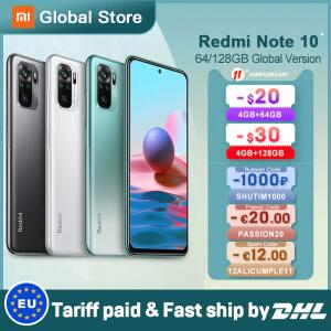 Xiaomi Redmi Note 10 4gb 64gb/4gb 128gb/6gb Snapdragon 678 33w Amoled Display 48mp R$1182
