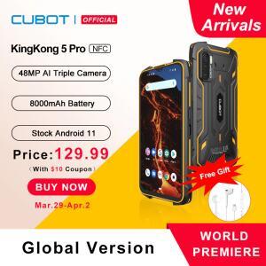 Smartphone Cubot KingKong 5 Pro 2021 R$800