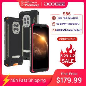 Smartphone DOOGEE S86 Pro Rugged Phone 6GB+128GB R$1109