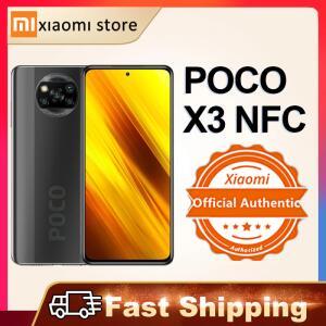 Smartphone Poco x3 NFC 128gb + 6gb RAM + Earbuds R$1268
