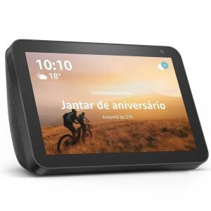 Amazon Echo Show 8 com Alexa - Preto R$718