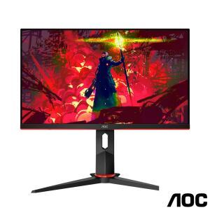 """Monitor Gamer AOC Hero 23.8"""" 144Hz 24G2/BK R$1138"""