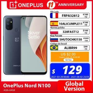 Smartphone One Plus Nord N100 4GB 64GB - R$776