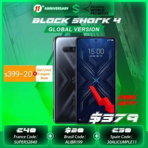[Pré-venda] Xiaomi Black Shark 4 - 6/128 - R$2383