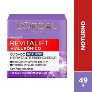 Creme Facial Anti-Idade L'oréal Paris Revitalift Noturno 50ml - R$20