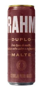 Cerveja Brahma Duplo Malte Lata 350ml Pack Com 12unidades R$38