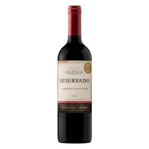 Vinho Tinto Seco Cabernet Sauvignon Reservado 750 ml - Concha Y Toro - R$31