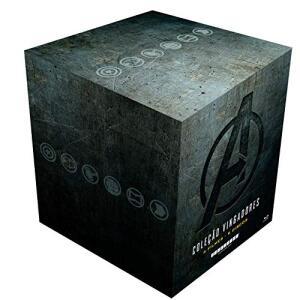 Coleção Vingadores 4 Filmes (9 Discos) [Blu-ray] - Steelbook | R$ 437,08