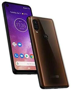 Smartphone Motorola One Vision Bronze, Modelo XT1970-1, 128 GB, 6.34' R$999