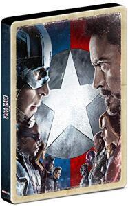 Capitão América: Guerra Civil - Steelbook [Blu-Ray] - R$40