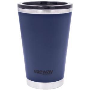 Copo Térmico Multiuso Exeway 380ml, Azul | R$78