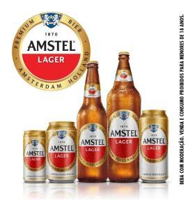 Caixa Cerveja Amstel Lata 350 Ml 12 | R$25