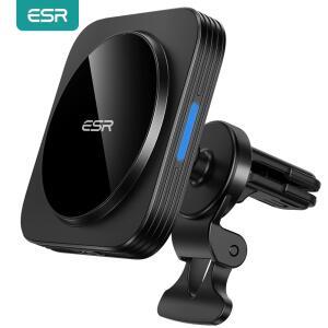 Carregador Sem fio automotivo para Iphone 12 ESR HaloLock com MagSafe | R$162