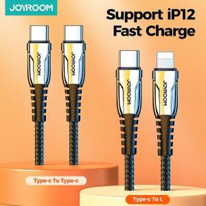 Cabo USB Type-C para iPhone Joyroom 60W | R$53