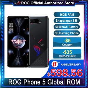 Smartphone Gamer Asus ROG Phone 5 8GB+128GB 144Hz | R$3.624
