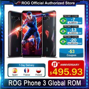 Smartphone Gamer Asus ROG Phone 3 8GB+128GB 144Hz | R$2.983