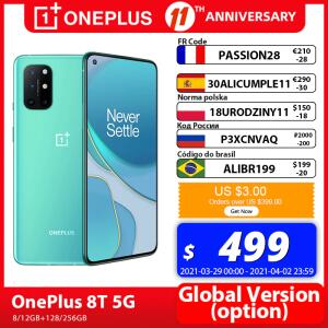 Smartphone OnePlus 8T 5G 8GB 128GB - Versão Global | R$3.069