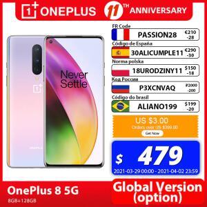 Smartphone OnePlus 8 5G Global FHD+ 8GB 128GB | R$2.946