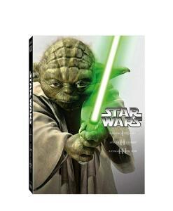 DVD Trilogia Star Wars I, II e III (3 discos)