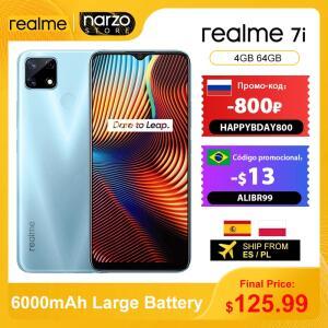 Smartphone Realme 7i 4GB 64GB - Versão Global | R$849
