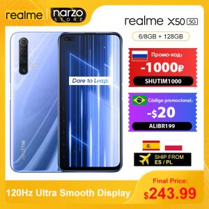 Smartphone Realme X50 6GB 128GB Global | R$1.622