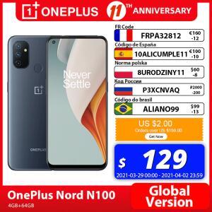 Smartphone One Plus Nord N100 4GB 64GB - R$780